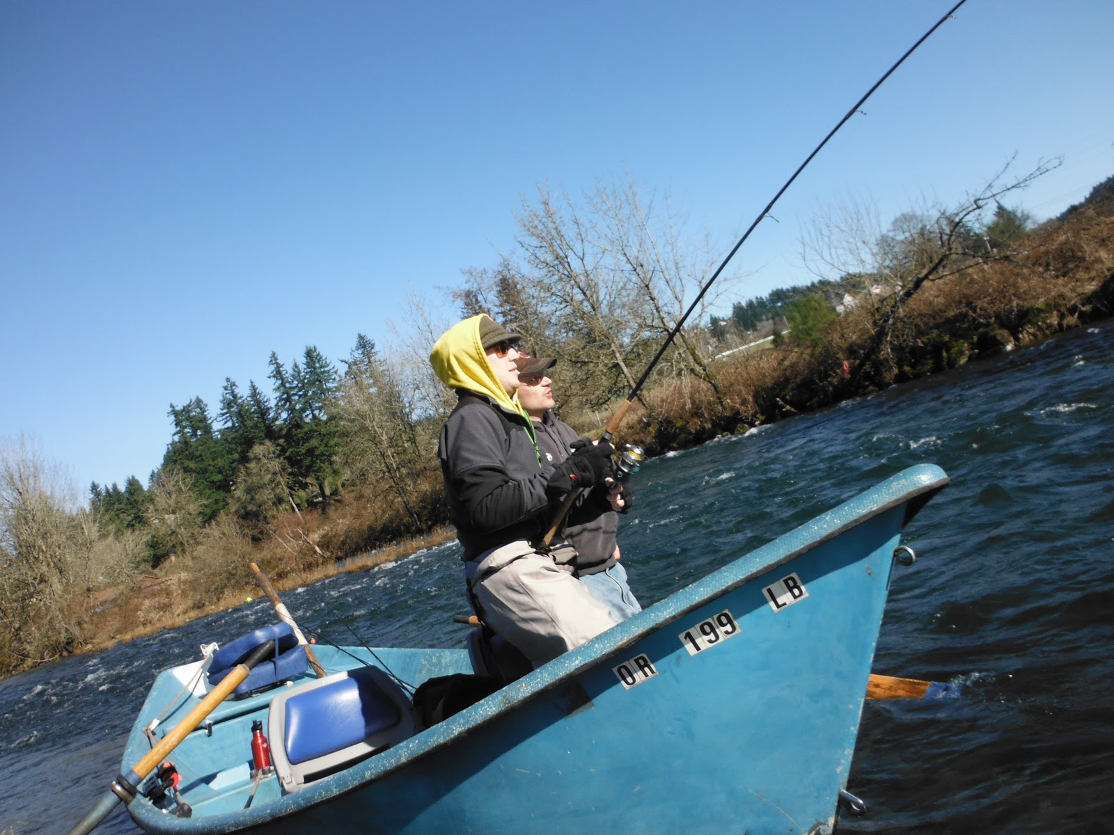 Skinny waders a fly fishing blog february 2013 for Battle ground lake fishing