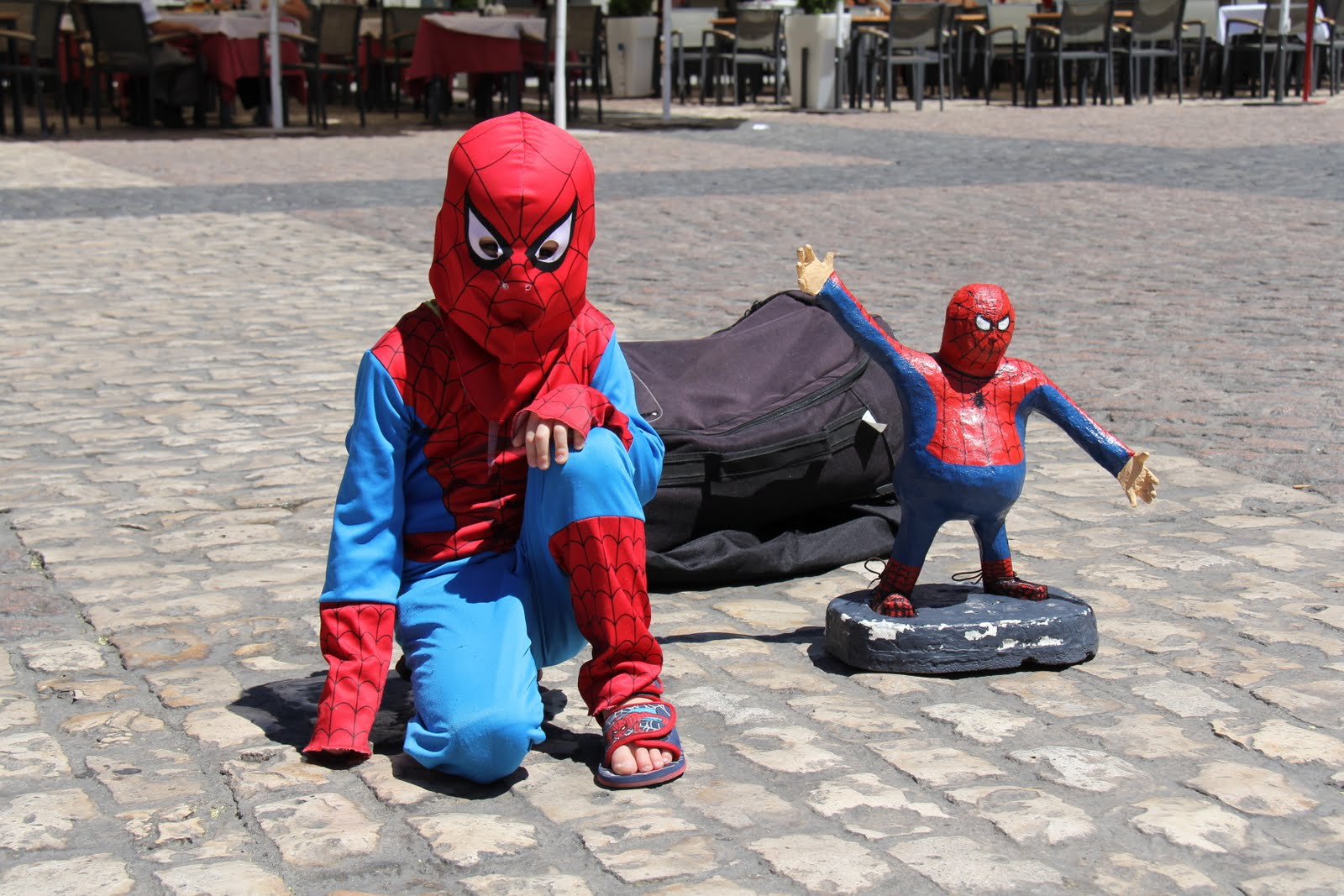 Bye Spiderman! We had SO much fun! & Spiderman Spiderman Does Whatever a Spider Can... - Girl Meets Globe