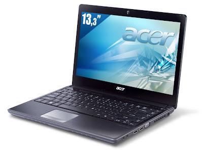 Spesifikasi dan Harga Laptop Acer Aspire 3820T-382G50nss