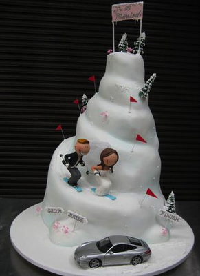 Life is Peachy: Quirky wedding cakes