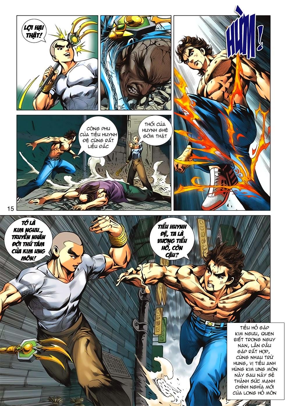 Tân Tác Long Hổ Môn chap 626 - Trang 15
