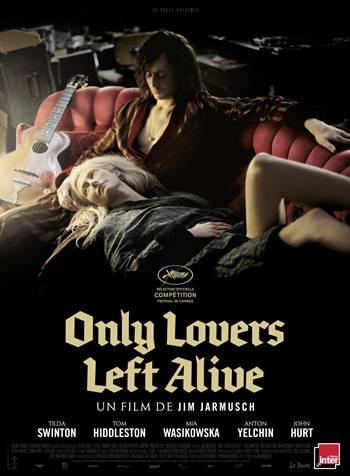 Solo los Amantes Sobreviven DVDRip Latino