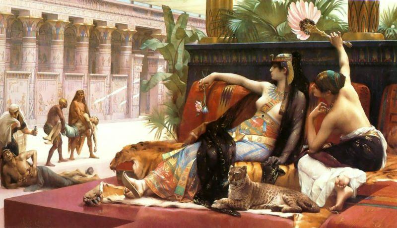 cabanel art cleopatra