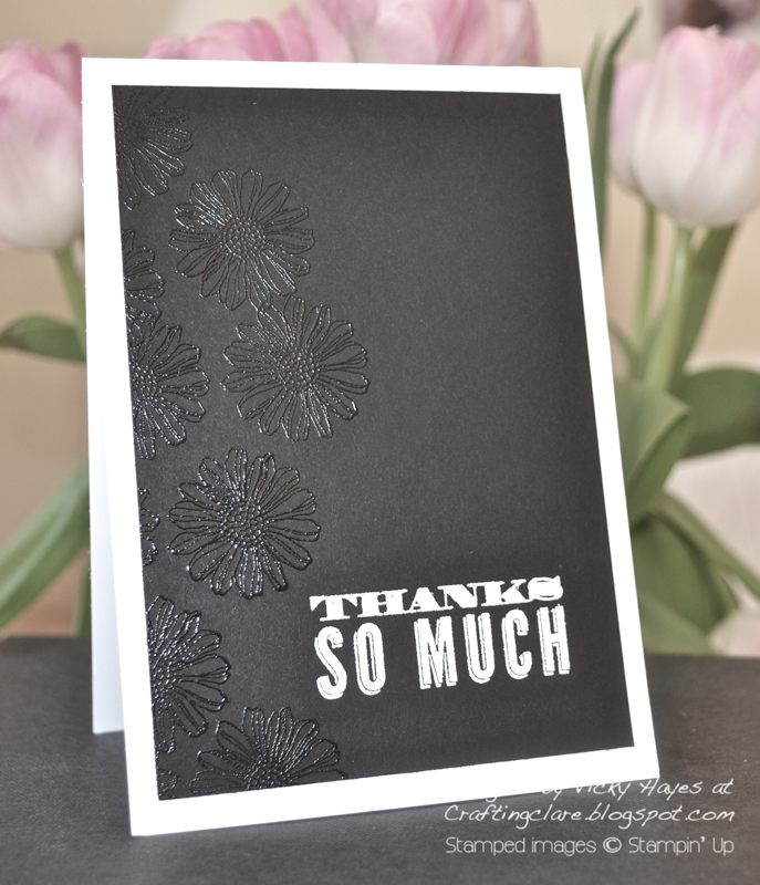 Card made with Best of Flowers by Stampin' Up