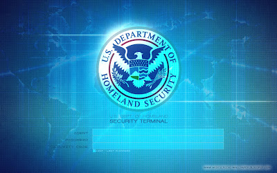 U.S Departement Of Homeland Security - Security Terminal Login Wallpapers