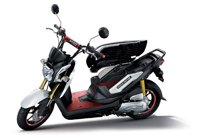 Gambar motor Honda Zoomer X