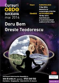 Cursuri ORDO la Suceava 09,10 Mai 2014