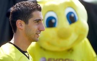 henrikh mkhitaryan dortmund football armenia soccer