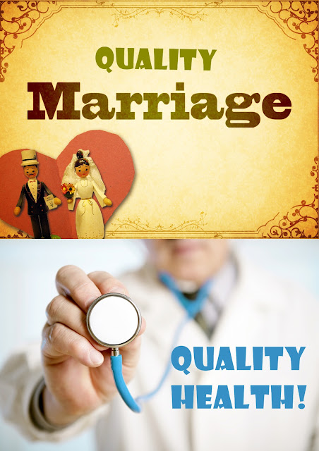 Quality Marriage Results In Quality Health - Research Revealed