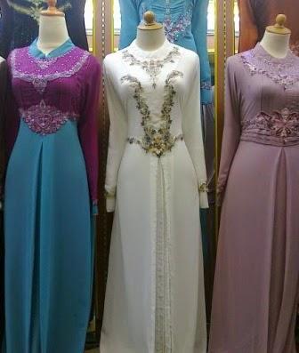Model Kebaya Muslim Baju Pengantin Muslim Dan Model