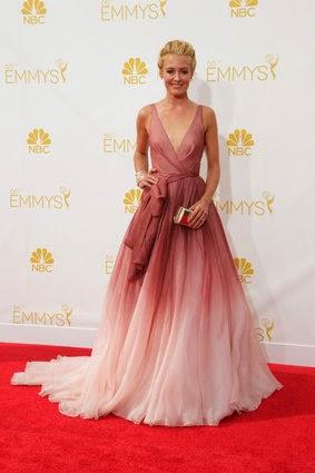 Long dress pink vespa
