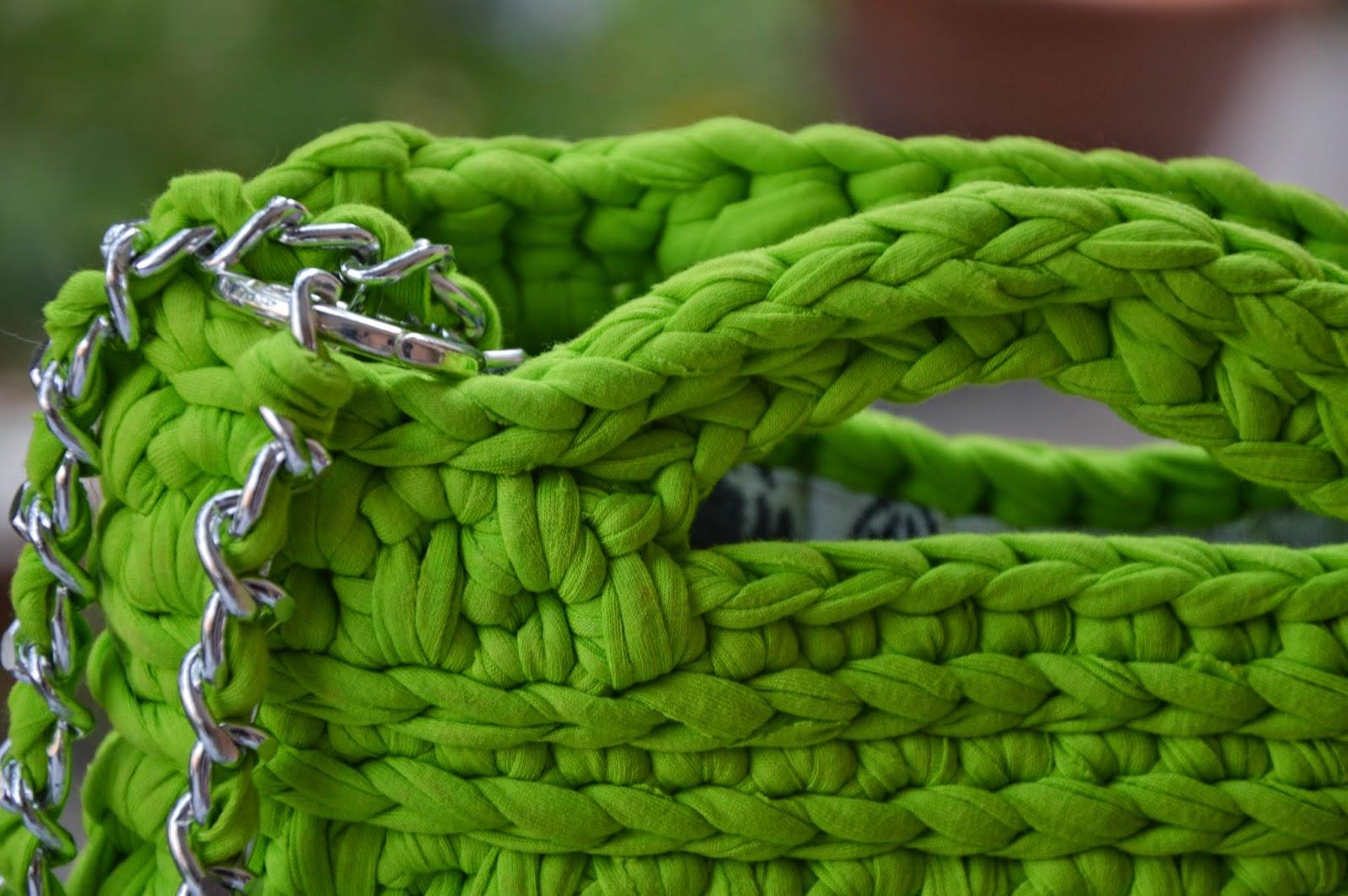 Borsa lycra verde