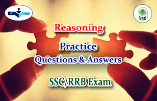 Practice Reasoning Questions with answers