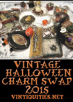 Vintage Halloween Charm Swap