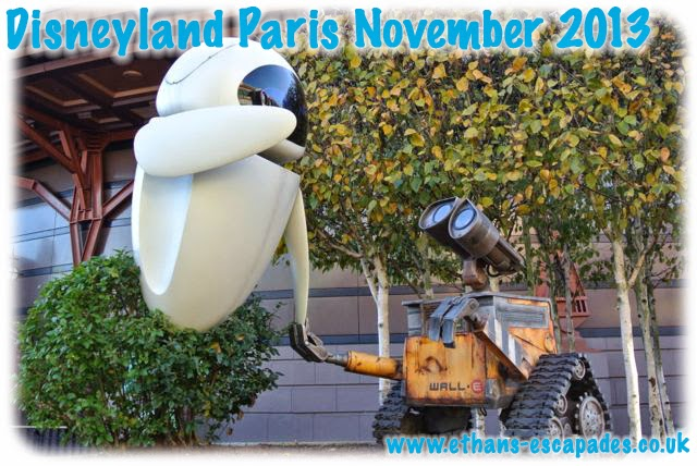 Disneyland Paris Christmas WALL-E