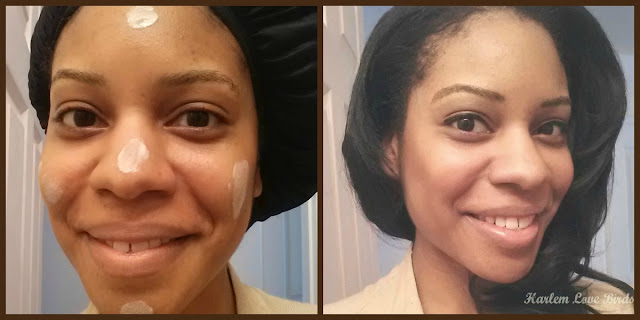 BB Cream Before and After