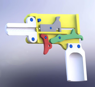 DEFCAD, 3D printing, 3D prototyping, 22 pistol