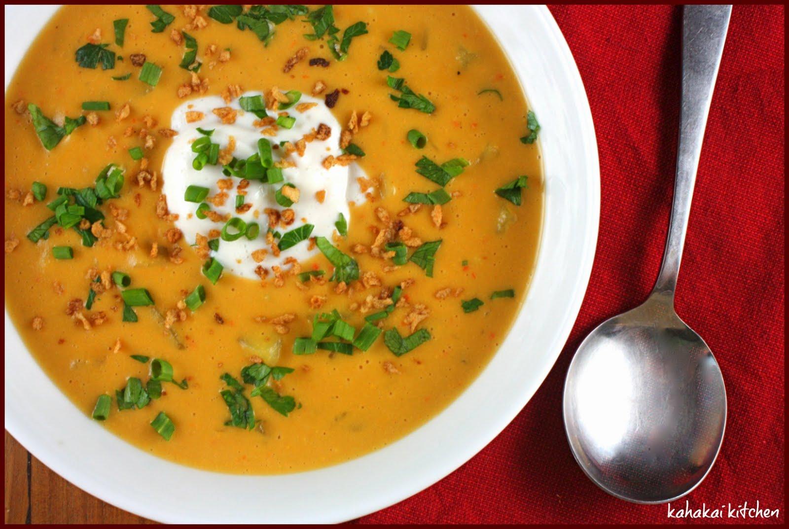 "Cheesy"" Potato Soup: A Healthier But Still Decadently Loaded Vegan ..."
