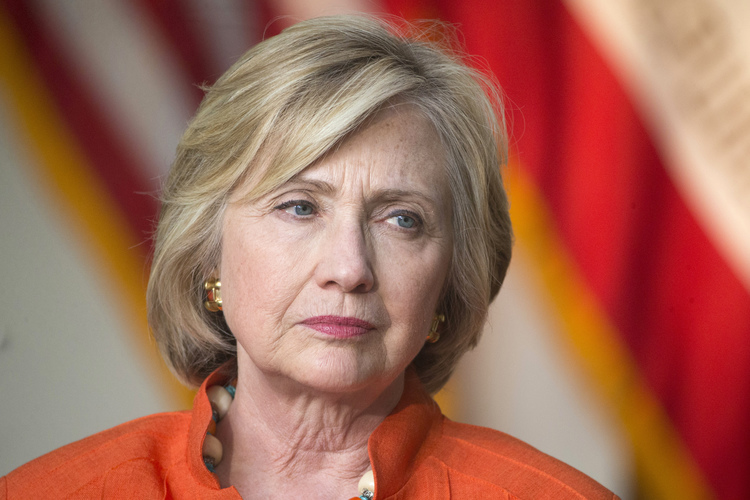 CROOKED HILLARY DISQUALIFIED HERSELF