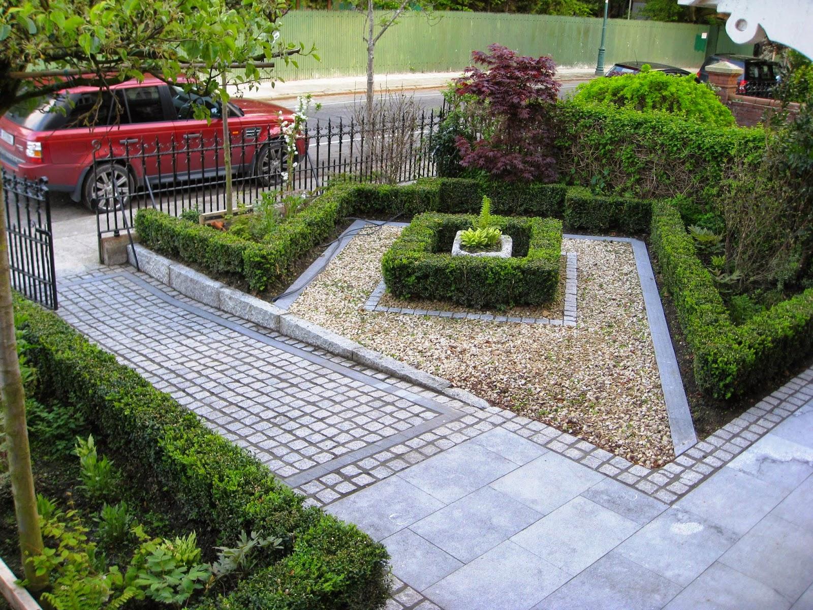 Contoh Karya Desain Eksterior Taman Depan Rumah Terbaru