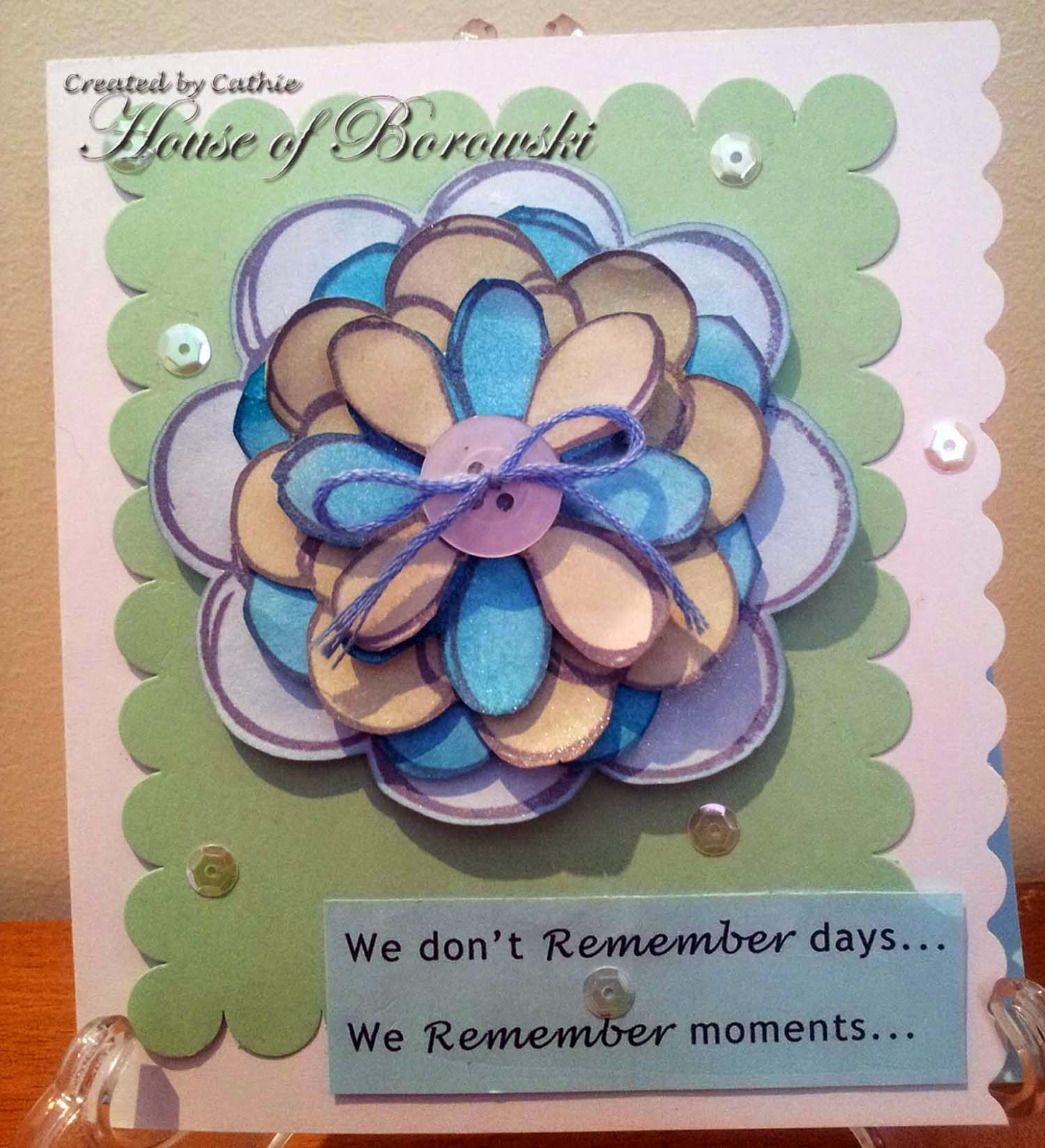 Perfectly Rustics, Diecut Divas, Hero Arts Hand drawn Flowers