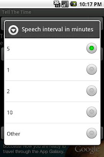 The Speaking Clock apk