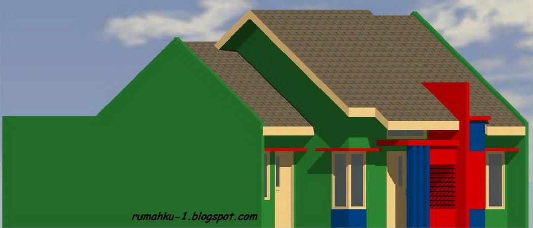 rumahku 1 denah rumah minimalis 1 lantai rumah type 70 136