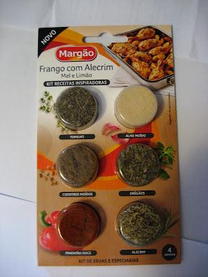 Kit Receitas Inspiradoras Margão, para Frango com Alecrim, Mel e Limão