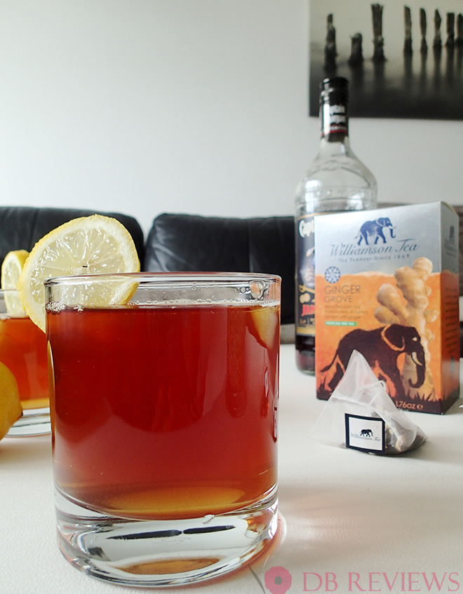 Rum and Tea Cocktail