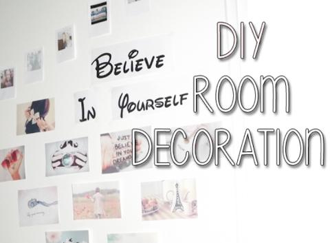 DIY Room Decoration -- Deur Versieren