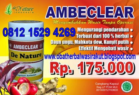 Foto obat ambeien ampuh tanpa operasi dengan obat wasir ambeien tanpa operasi ambeclear