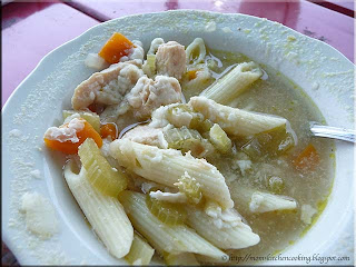 chicken penne soup