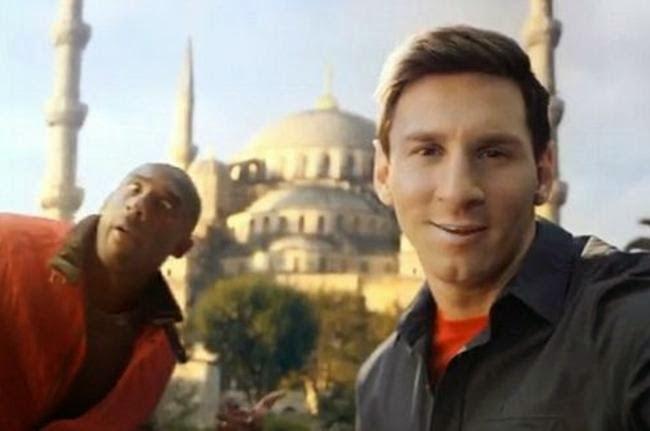 Gambar Fenomena Foto Selfie Terbaru Messi