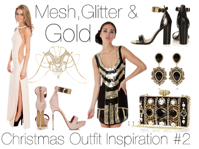 Christmas outfit inspiration 2 mesh glitter amp gold stitches of
