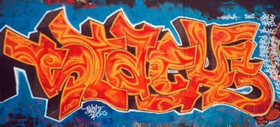 Graffiti Mural Design, Graffiti Mural,  Mural