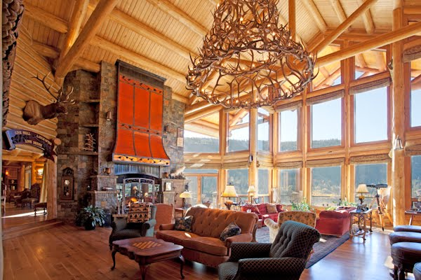 Remarkable Luxury Living Room Fireplace