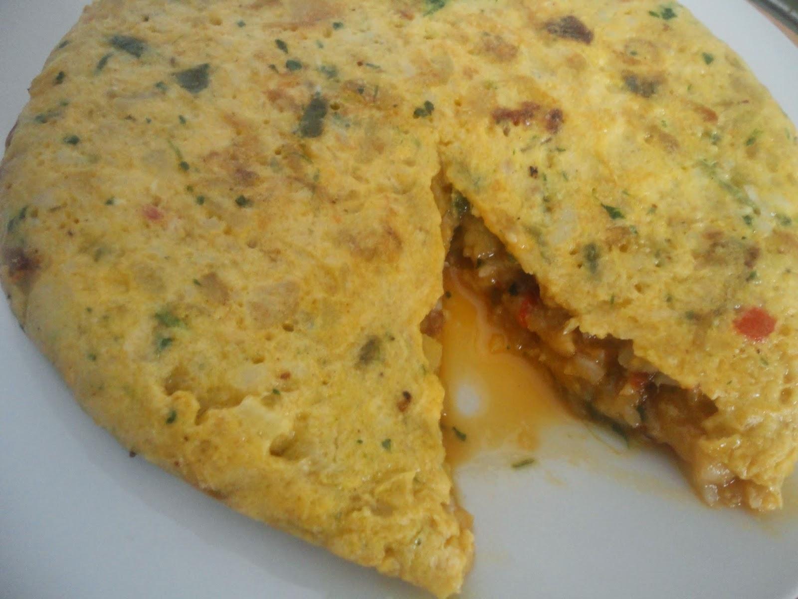 COCER & CANTAR : Tortilla de patata y bacalao
