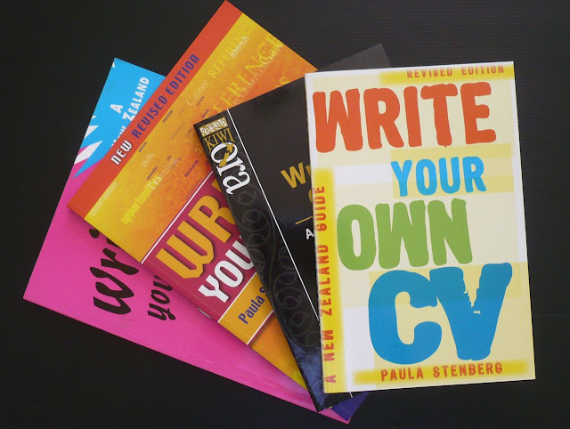 CV Writing Books By Paula Stenberg From New Zealand. Please Place Your  Orders By Emailing Me Direct.