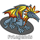 FarmVille Tselius Dragon Icon