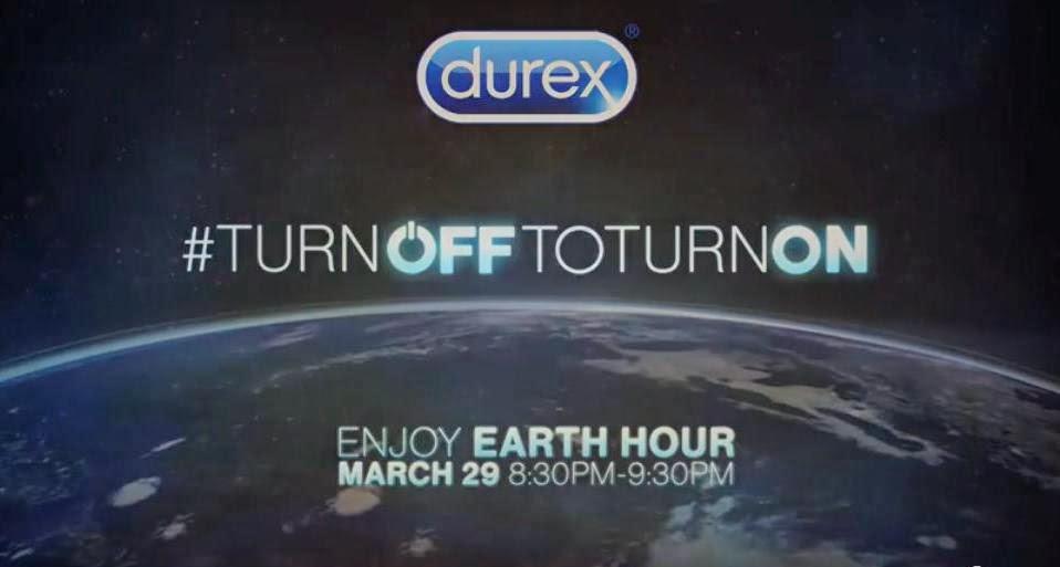 Durex i Godzina dla Ziemi