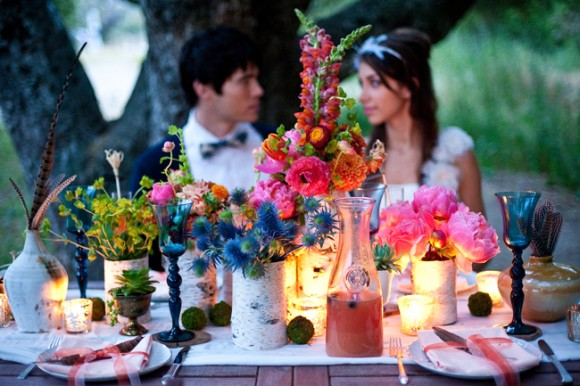 OhSoCalifornia OhSoBohemian Al Fresco Wedding Inspiration