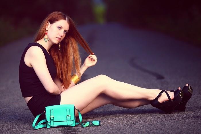 kameleonz, lucie srbová, česká blogerka, trendy 2014, jak nosit černou