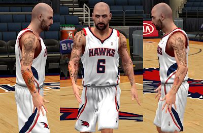 NBA 2K14 Pero Antic Tattoos Mod