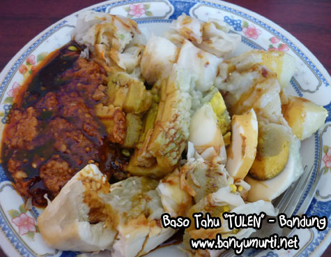 Kuliner Bandung - Baso Tahu TULEN