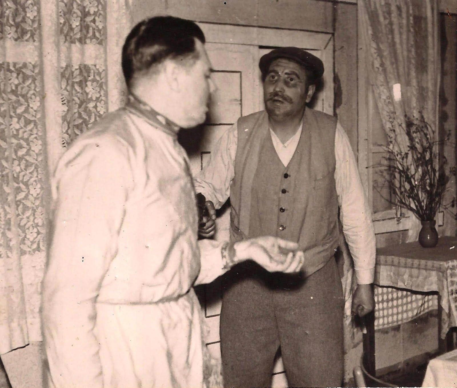 Valles dramatiskais kolektīvs . Blaumaņa luga ,, Zagļi '' . 1967. gads