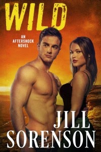 Wild cover description: Shirtless man has his arm around a woman's waist. She's wearing a black top.