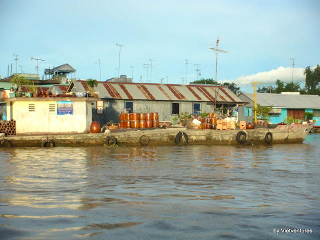 Cham Village à Chau Doc