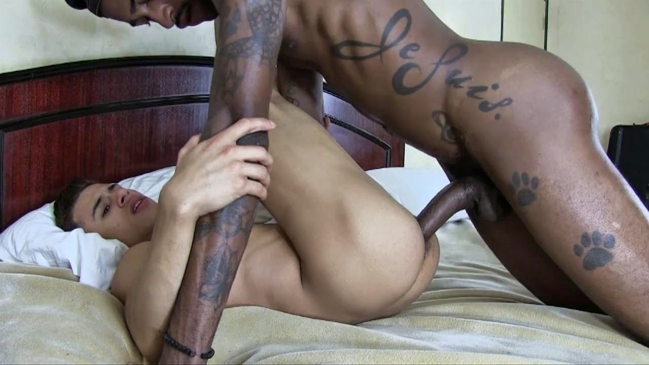 Black Couch Fuck Raw