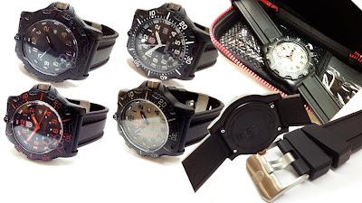 Jam Tangan Luminox | Pria | Rubber | Tanggal | Murah | Grosir