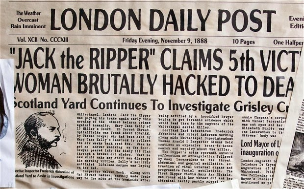 Jack The Ripper Headline